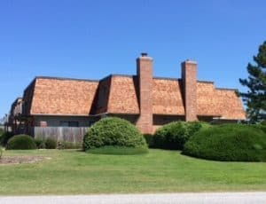 commercial wood shake roofing